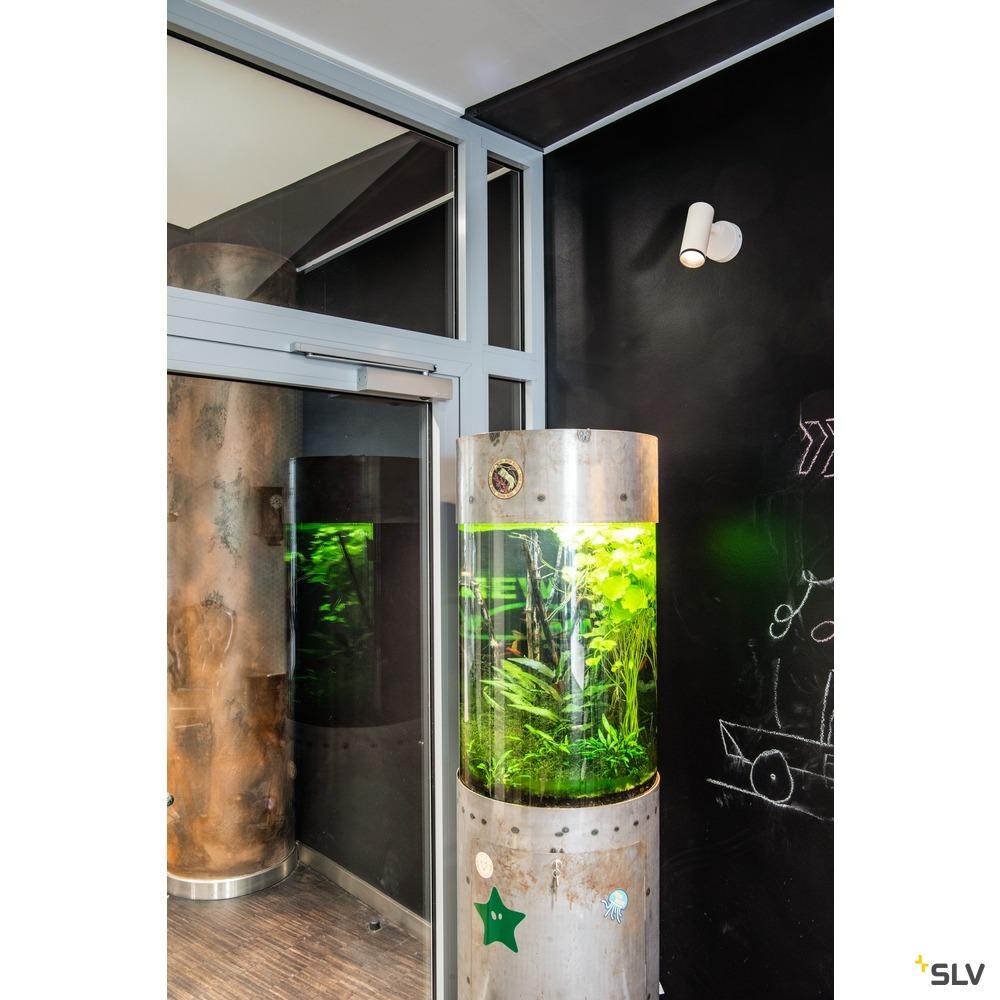 NUMINOS® SPOT PHASE S, Indoor LED Deckenaufbauleuchte weiß/schwarz 4000K 60° weiß