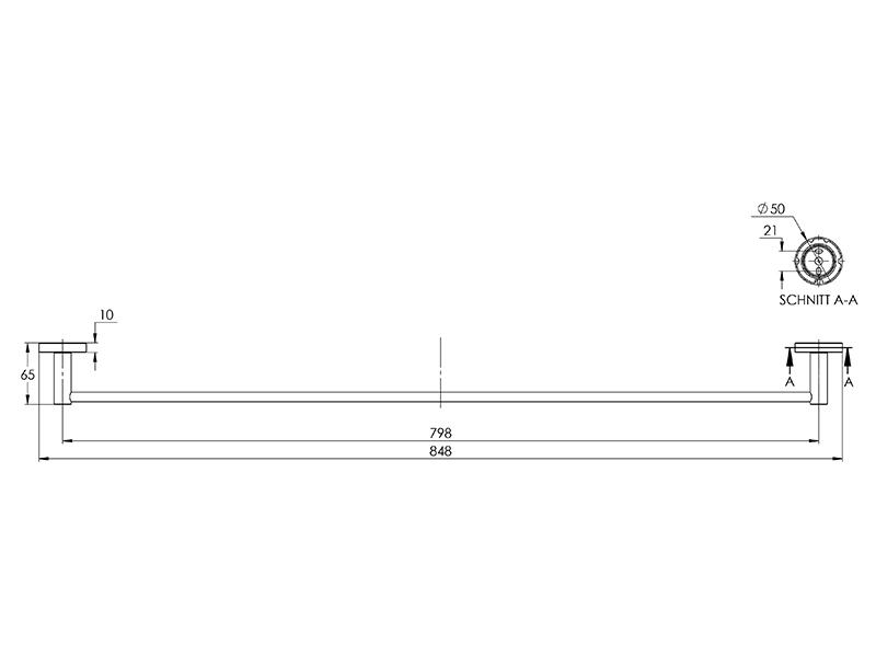 Treos Handtuchstange Serie 555