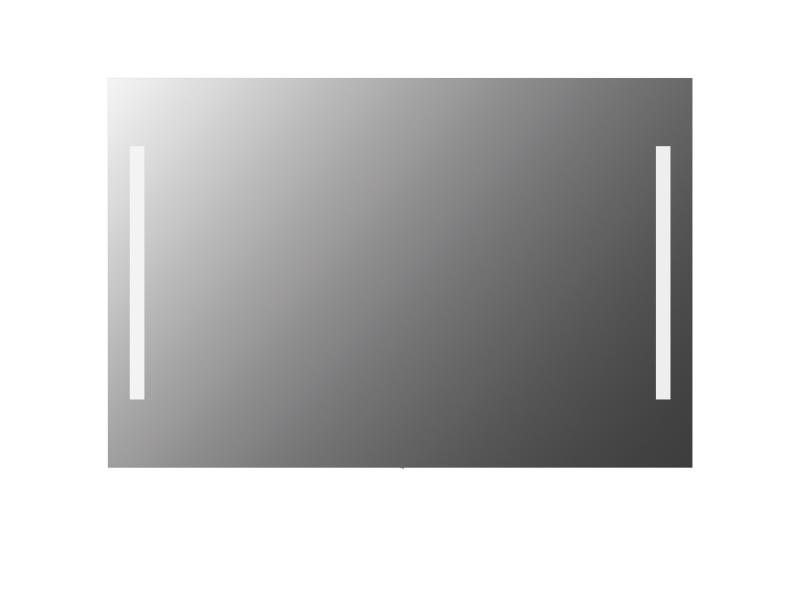 Treos Led Wandspiegel eckig 1200x800 mm