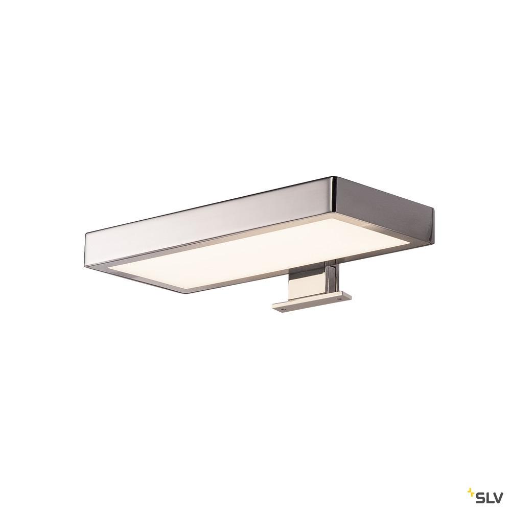 DORISA, Spiegelleuchte, LED, 4000K, rechteckig, chrom, IP44
