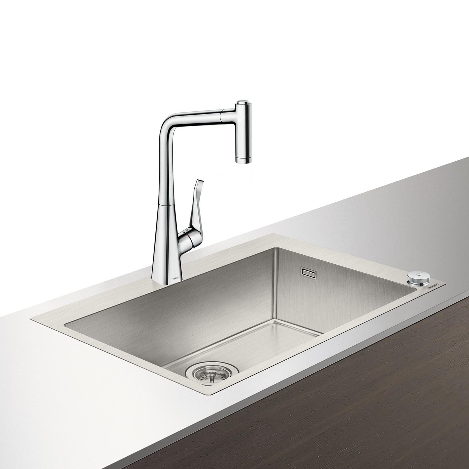 HG Select Spülencombi 660 chrom