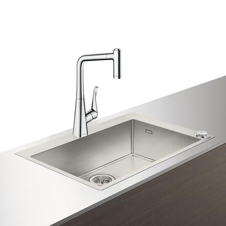 HG Select Spülencombi C71 chrom