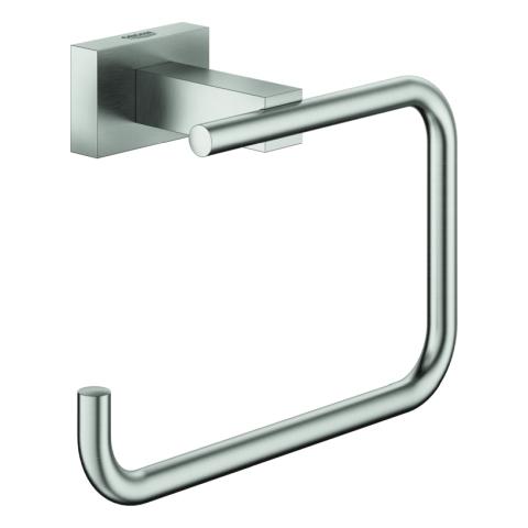 GROHE WC-Papierhalter Essentials Cube 40507_1 ohne Deckel supersteel