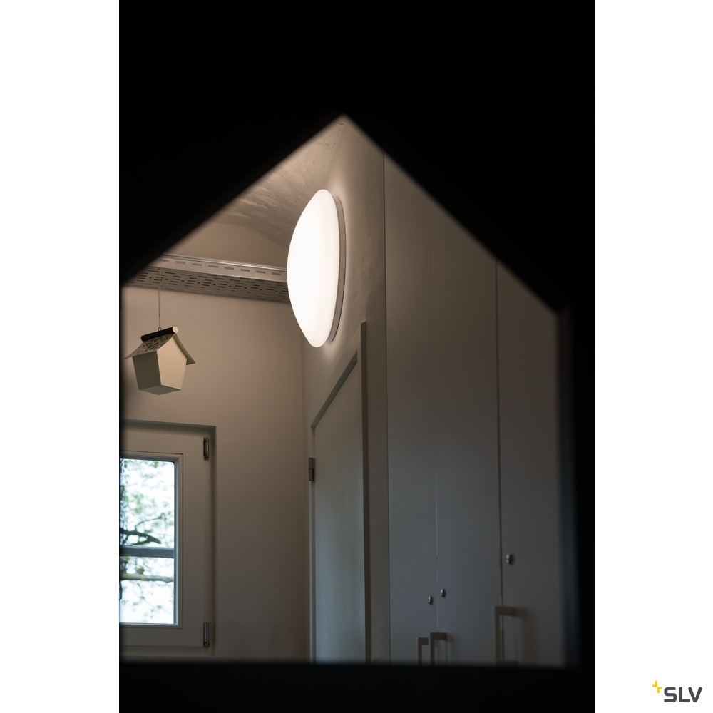 LIPSY 50 VALETO® CW, LED Indoor Wand- und Deckenaufbauleuchte, weiß, 31W