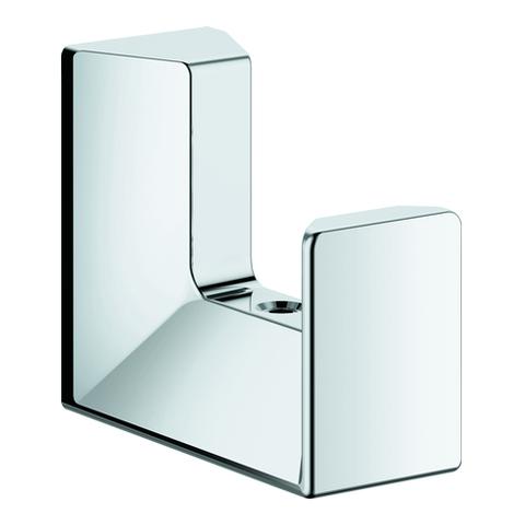 GROHE Bademantelhaken Selection Cube 40782 Metall chrom