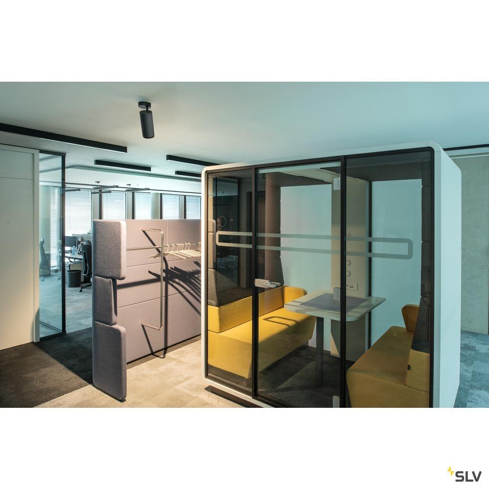 NUMINOS® CL PHASE M, Indoor LED Deckenaufbauleuchte weiß/schwarz 4000K 60° weiß