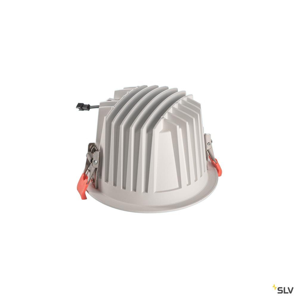 NUMINOS® DL XL, Indoor LED Deckeneinbauleuchte weiß/schwarz 4000K 40°