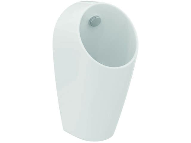IS E-Urinal Sphero Maxi f.Batt.Anschl. Zulauf hinten 300x300x620mm Weiß