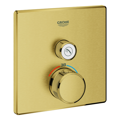 GROHE Thermostat Grohtherm SmartControl 29123 eckig FMS 1 ASV cool sunrise geb.