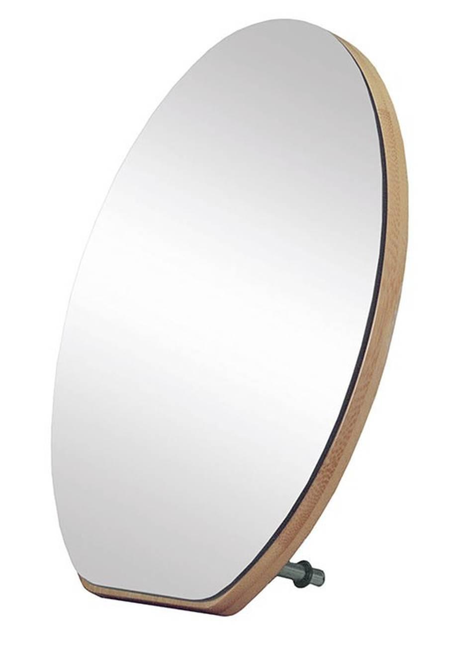 Kosmetikspiegel Clever Mirror Bambus/Glas Natur Spiegel