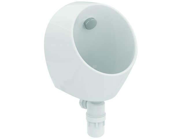 IS Urinal Sphero Mini Zulauf hinten 300x300x370mm Weiß