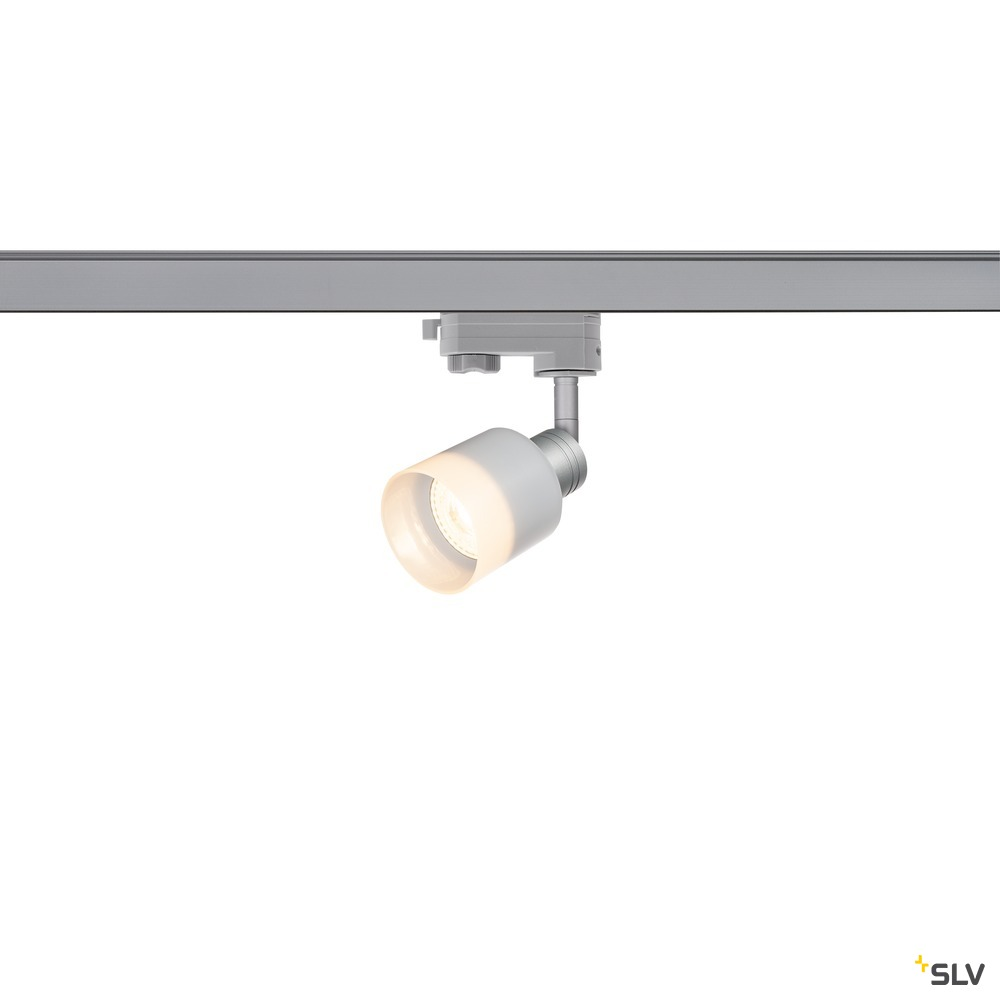 PURI TRACK  QPAR51 Glas, silber 50W, inkl. 3P.-Adapter