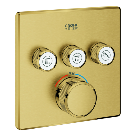 GROHE Thermostat Grohtherm SmartControl 29126 eckig FMS 3 ASV cool sunrise geb.