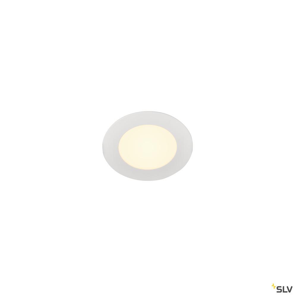 SENSER 12, Indoor LED Deckeneinbauleuchte rund weiß 3000K