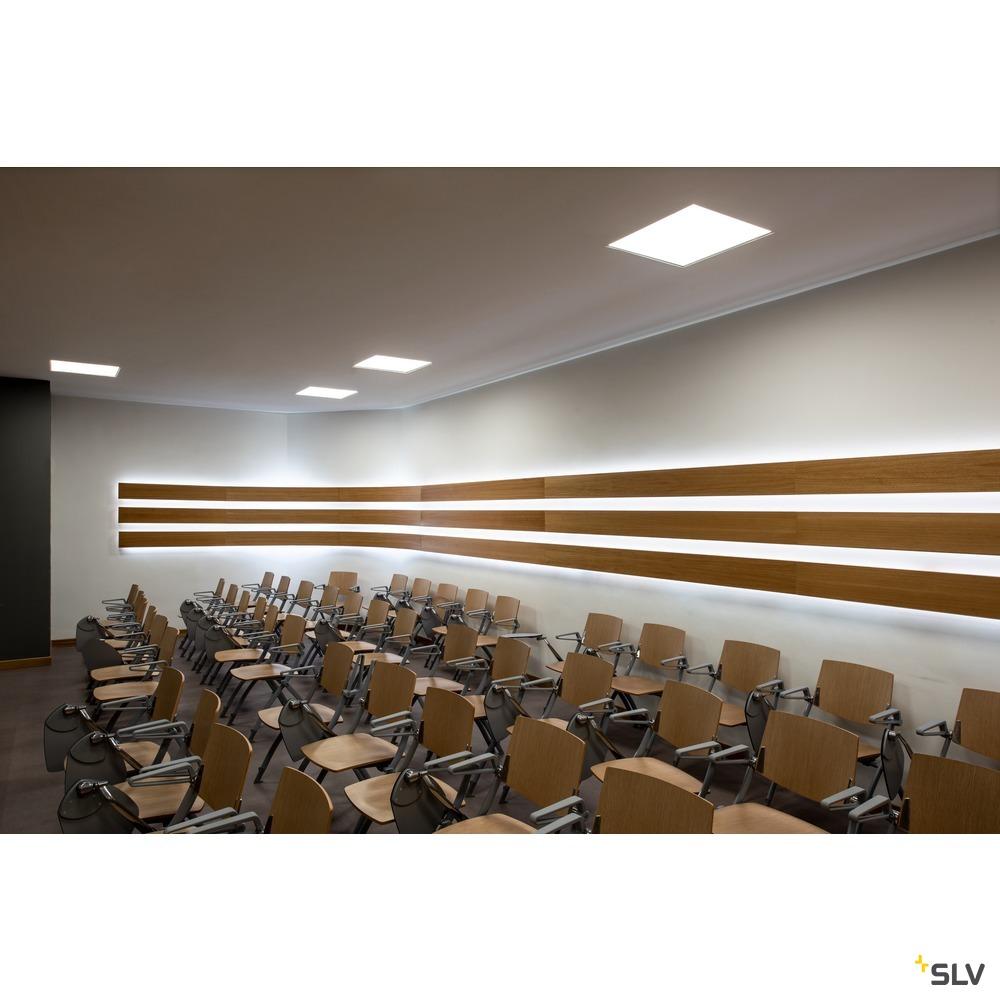 LED PANEL 620x620, Indoor LED Deckeneinbauleuchte weiß 4000K UGR