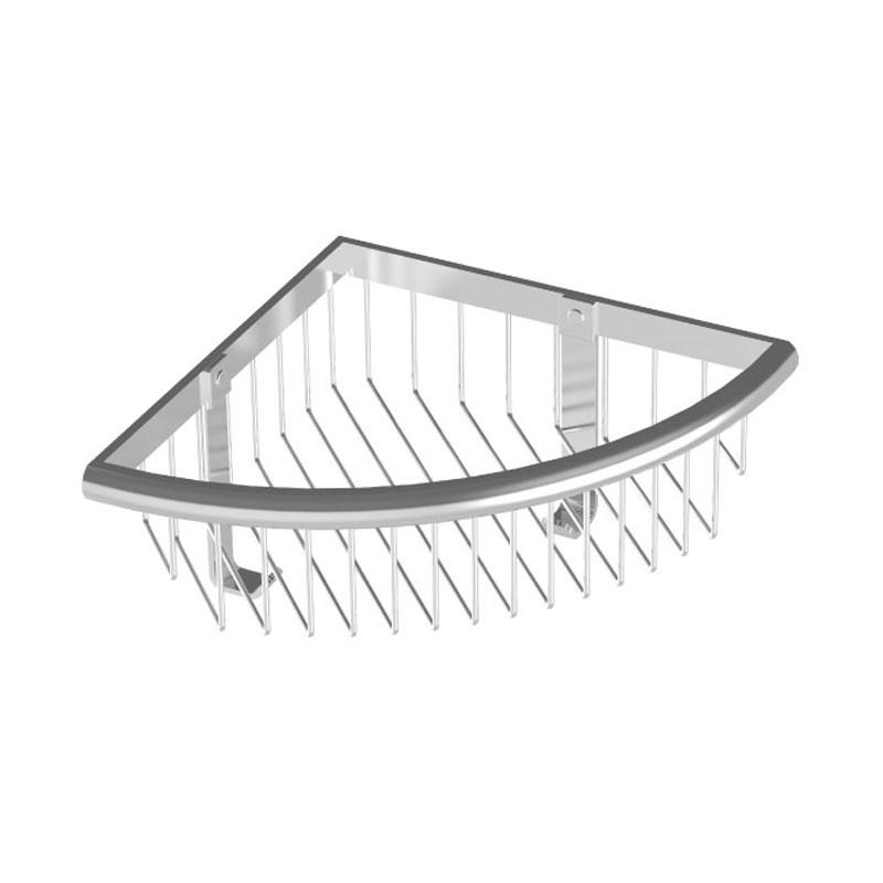 HSK Komfort & Pflege - Duschkorb Premium Eckmodell, hoch