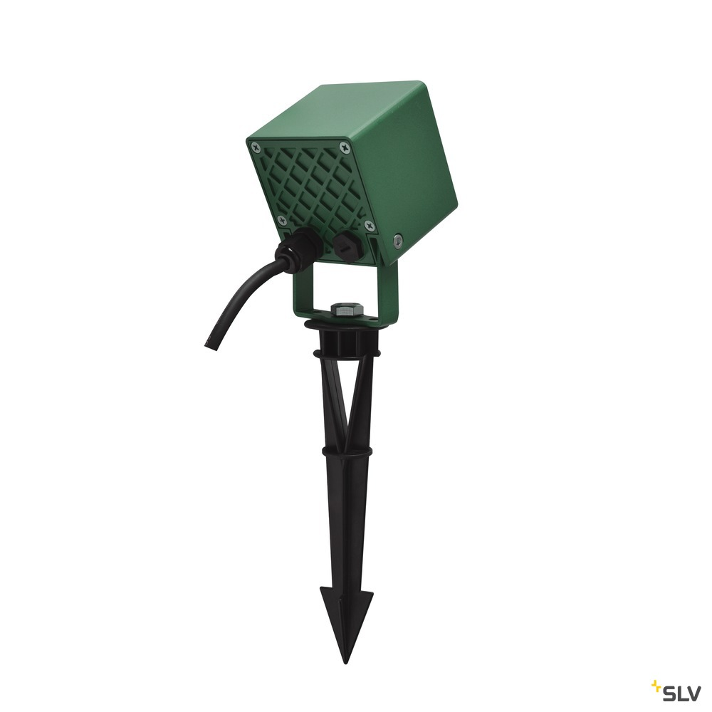 NAUTILUS 10 Spike, LED Outdoor Erdspießleuchte, grün IP65 3000K, 45°