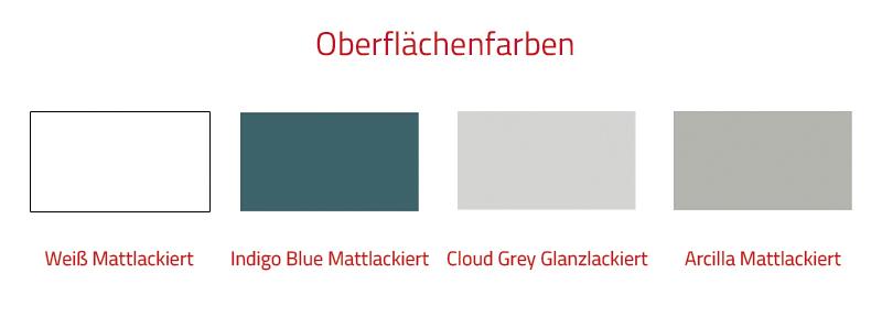Thielsch Badmöbel Versus 100 inkl. Waschtisch Cloud Grey Glanzlackiert