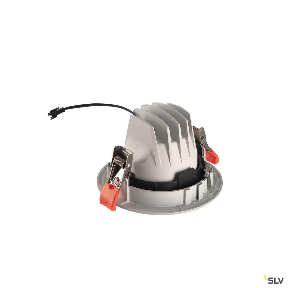 NUMINOS® MOVE DL M, Indoor LED Deckeneinbauleuchte weiß/schwarz 4000K 20° dreh- und schwenkbar