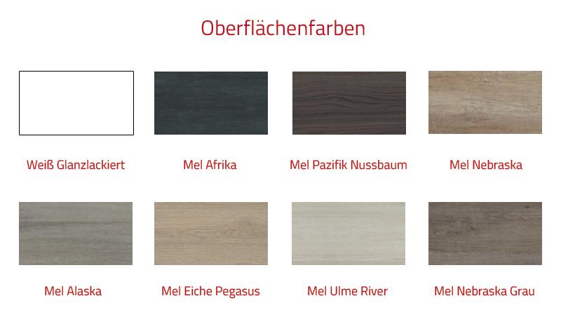 Thielsch Badmöbel Element Set 100 cm Mel Pazifik Nussbaum