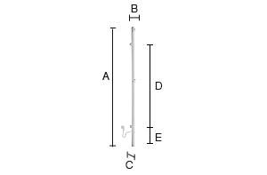 SMEDBO DRY Bad Elektrischer Handtuchwärmer, Vertikal Edelstahl poliert