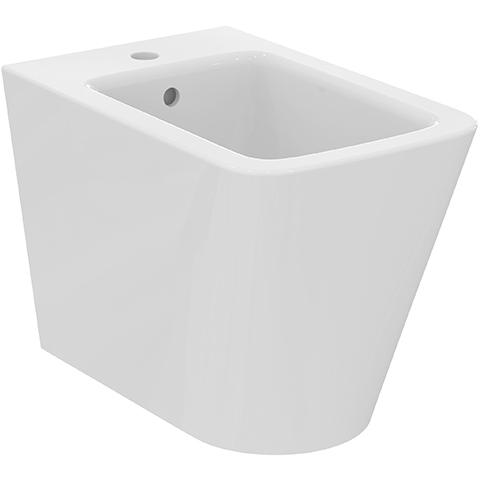 IS Stand-Bidet Blend Cube 1 Hl. 355x540x400mm Weiß
