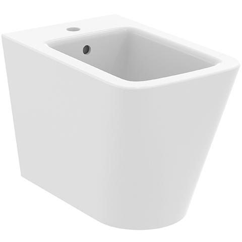 IS Stand-Bidet Blend Cube 1 Hl. 355x540x400mm Seidenweiß