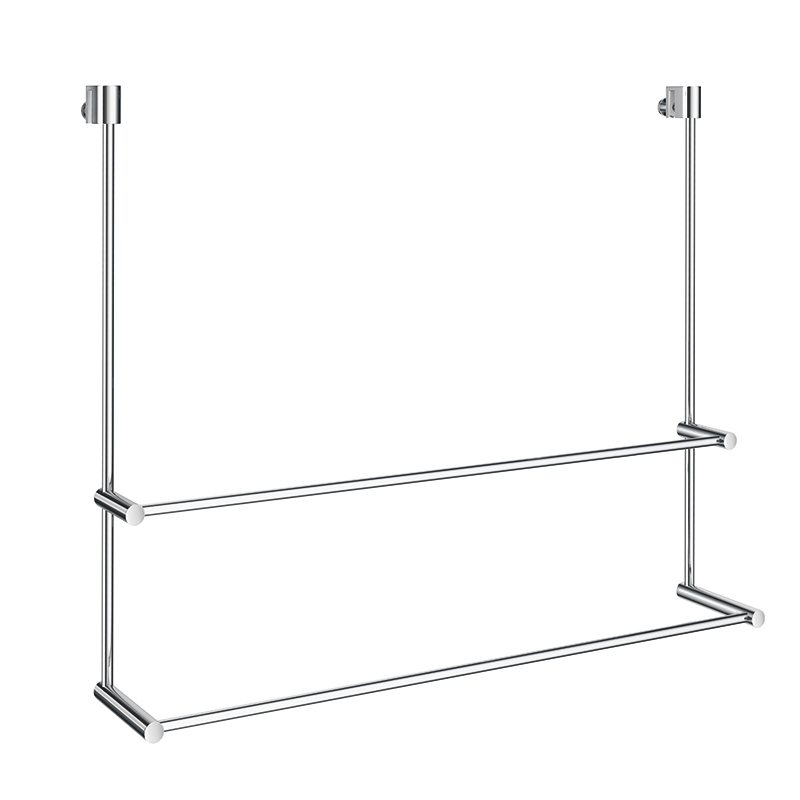SMEDBO Sideline Doppelhandtuchhalter für Glasduschwand