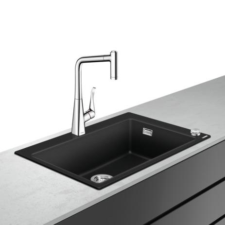 HG Select Spülencombi 660 C51 chrom