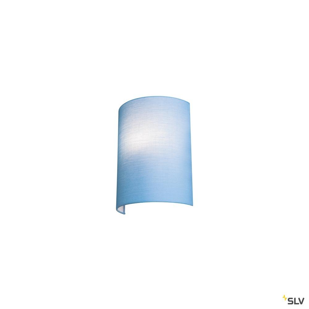 FENDA, Wandleuchtenschirm, halb, blau