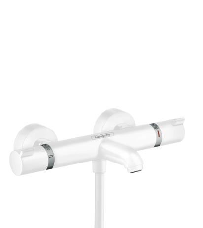 HG Thermostat Ecostat Comfort Wanne Aufputz DN15 mattweiss