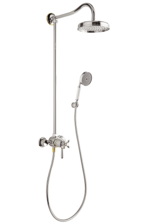 HG Showerpipe EcoSmart Axor Carlton
