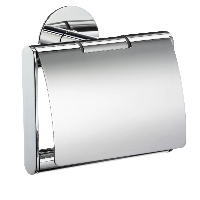 SMEDBO TIME Toilettenpapierhalter mit Deckel Verchromt