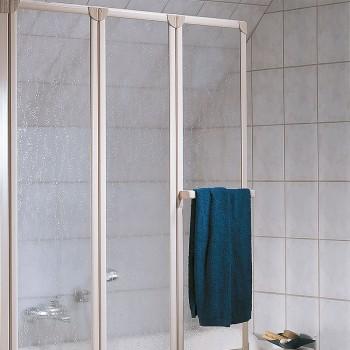 HSK Prima Badewannenaufsatz inkl. Handtuchhalter - 1268 mm exkl. Aufmaßservice Alu Silber-Matt