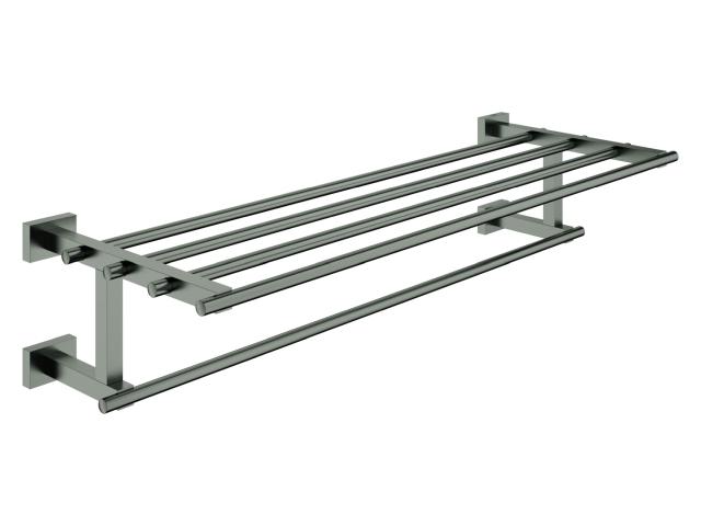 GROHE Multi-Badetuchhalter Essentials Cube 40512_1 558mm hard graphite geb.