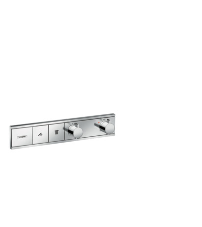 HG Thermostat Unterputz RainSelect Fertigset 2 Verbraucher chrom