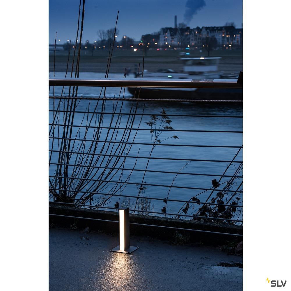 H-POL, Wege- und Standleuchte, einflammig, LED, 3000K, anthrazit, L/B/H 16,5/16,5/36 cm
