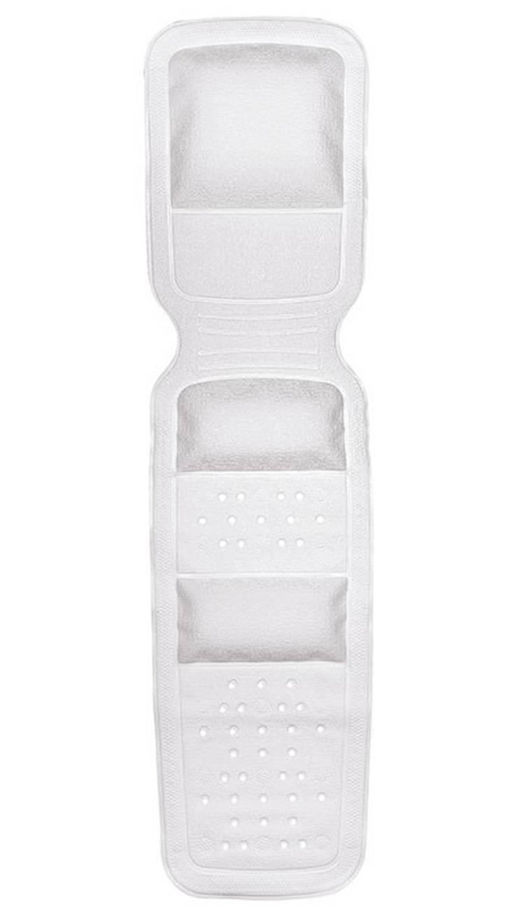 Wanneneinlage Wellness PVC Weiss 36x145 cm