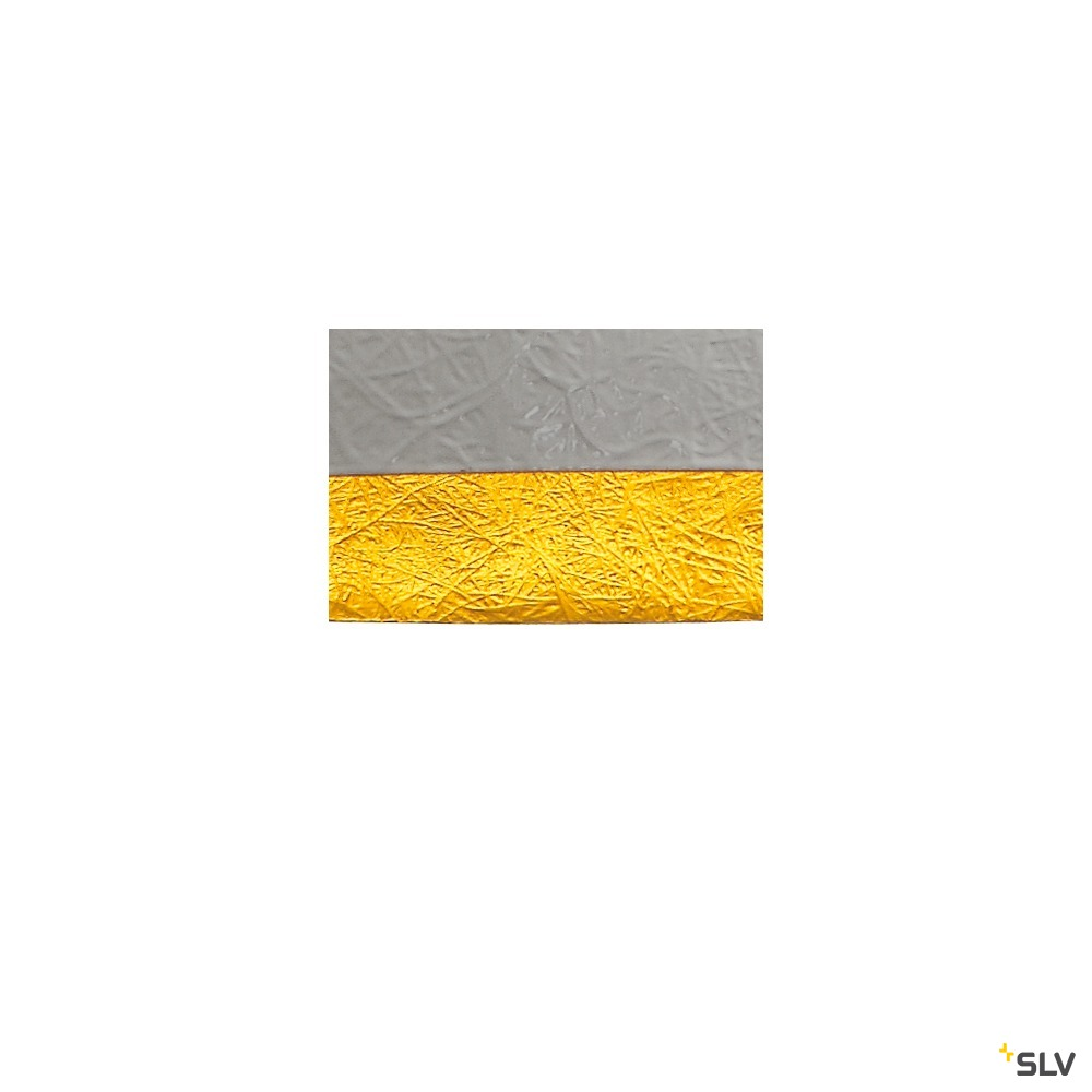 FORCHINI PD-1, Pendelleuchte, A60, rund, weiß matt/gold, Ø 50 cm, max. 40W