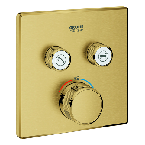 GROHE Thermostat Grohtherm SmartControl 29124 eckig FMS 2 ASV cool sunrise geb.