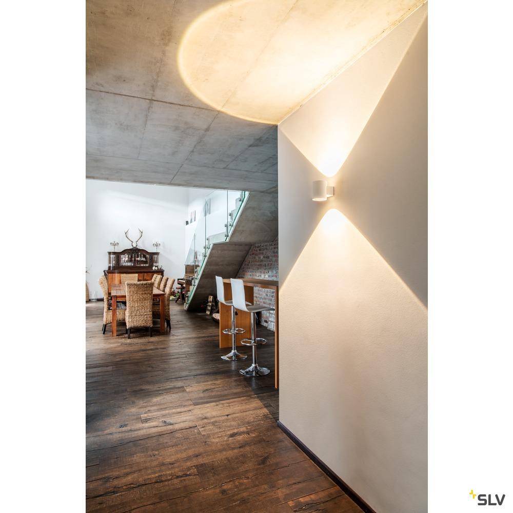OCULUS UP/DOWN WL, Indoor LED Wandaufbauleuchte weiß 2000-3000K