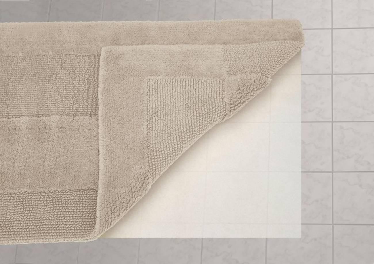 Unterlage Rutsch Stopp 100 % Polyester Weiss 70x120 cm