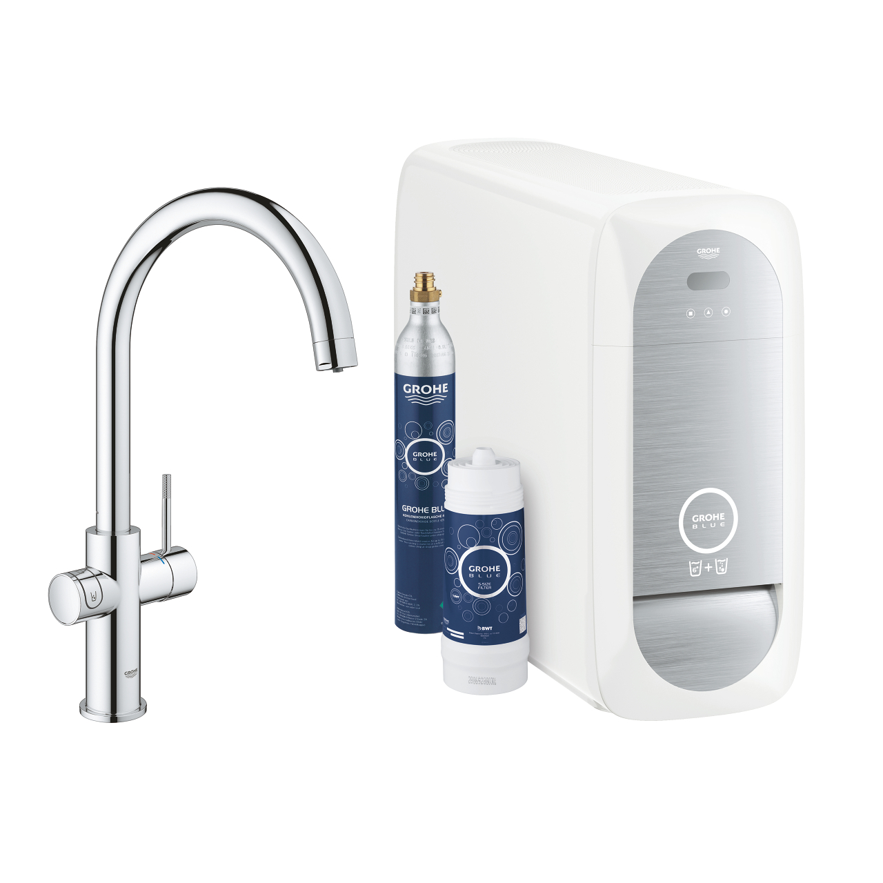 GROHE Blue Home Starter Kit U-Auslauf