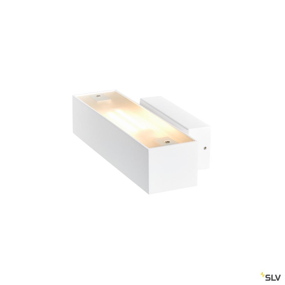 ANDREAS QT-DE12, Indoor Wandaufbauleuchte, weiß