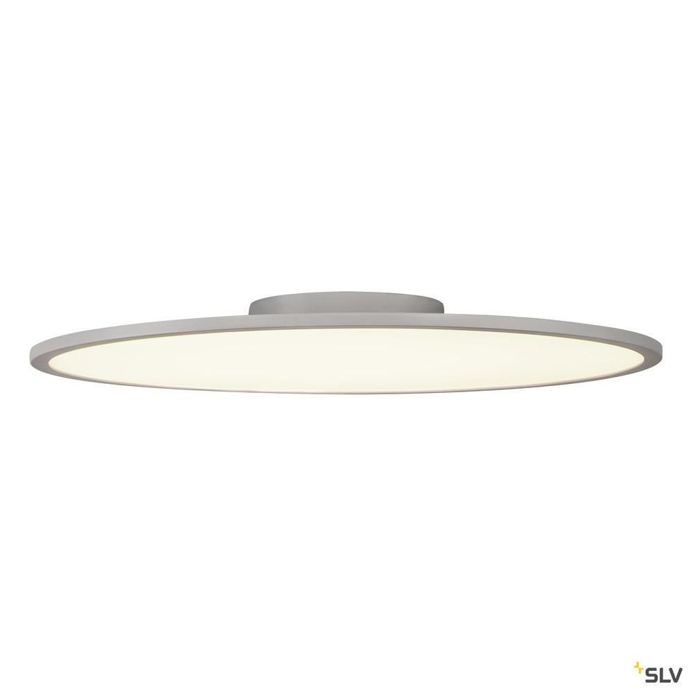 PANEL 60 DALI, Indoor LED Deckenaufbauleuchten rund grau 4000K weiß