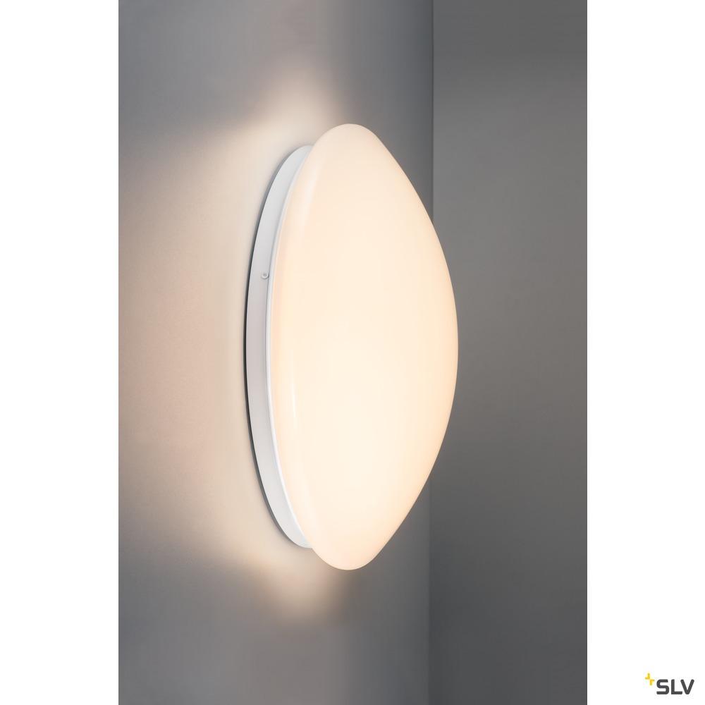 LIPSY 30 VALETO® CW, LED Indoor Wand- und Deckenaufbauleuchte, weiß, 14W