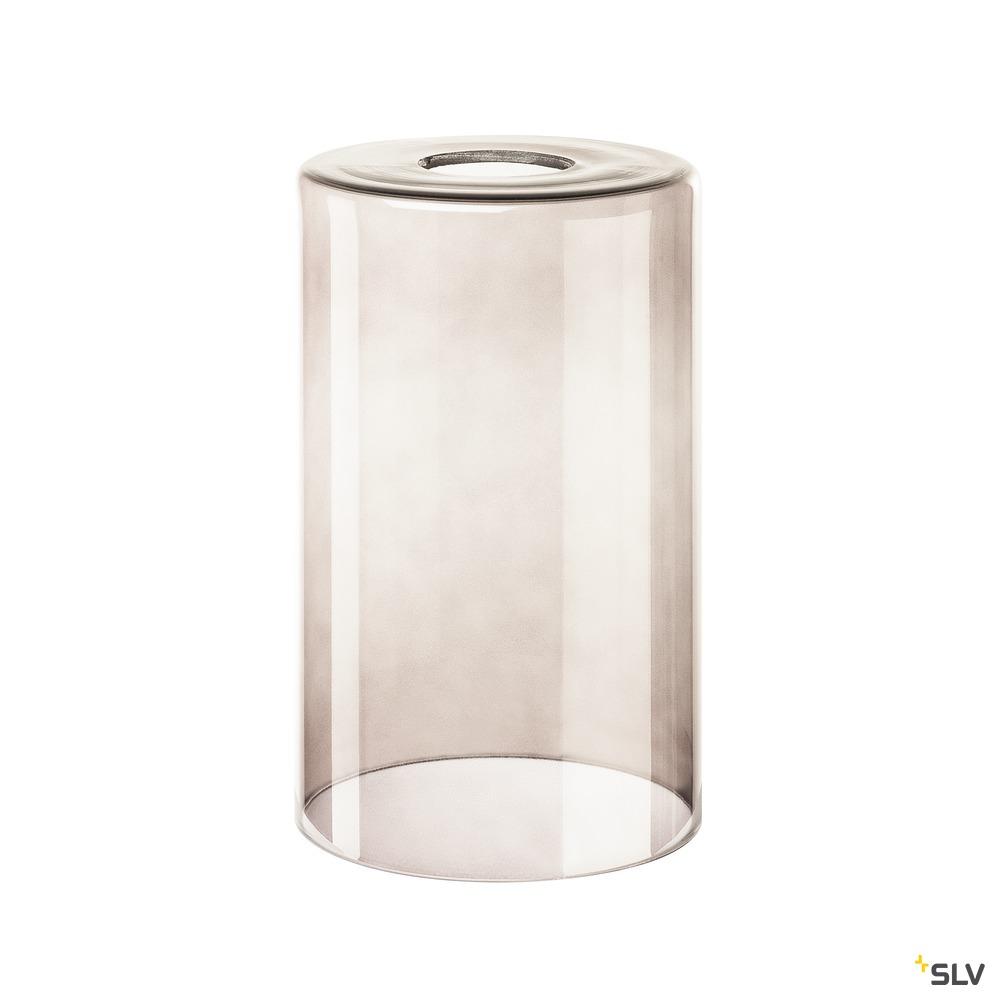 FENDA, Glasleuchtenschirm, Rauchglas