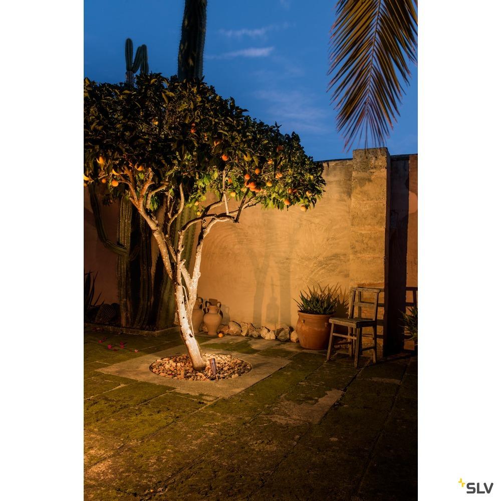 SYNA, Outdoor Spiessleuchte, LED, 3000K, IP55, rost, 230V, 8,6W