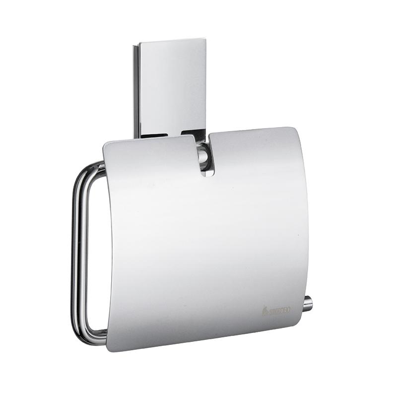 SMEDBO POOL Bad Toilettenpapierhalter mit Deckel Verchromt