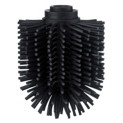 SMEDBO Ersatzbürstenkopf, schwarz TPR